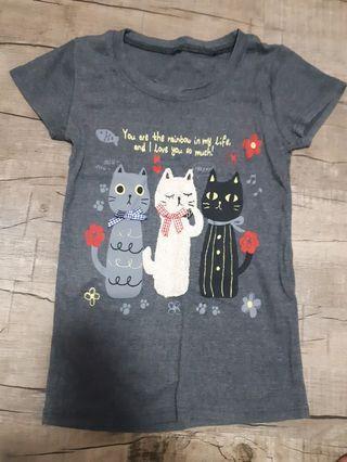 🚚 Cat t shirt