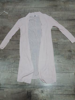🚚 Long pink cardigan