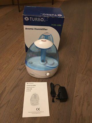 全新TURBO 二合一香薰冷霧加濕機 加濕器