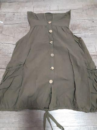 Olive ulzzang outerwear