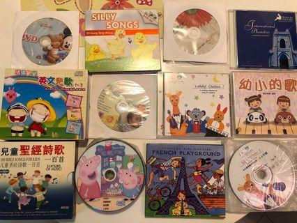 Free Babies / Kids music, songs CD DVDs collection