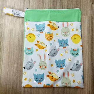 Smiley Animals XL Wet Bag