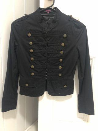 Black boutique jacket xs as new