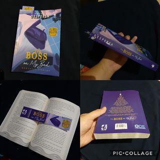 Novel by Despersa The Boss On My Bed Baru baca 1x Great condition