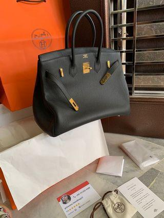 Customer Order . Hermes Birkin Bag Handmade