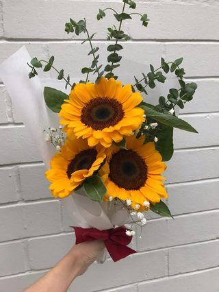 Triple Sunshine Bouquet