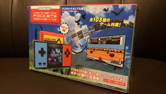 手提任天堂紅白機代用機互換機 FC pocket game computer NES Famicom