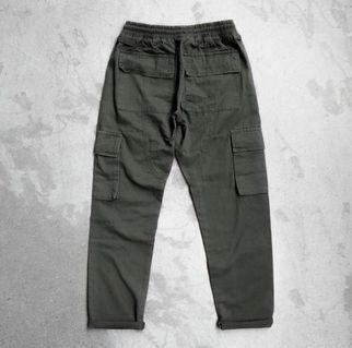 🚚 軍綠 橄欖綠 多口袋軍事工作褲 工裝 休閒褲