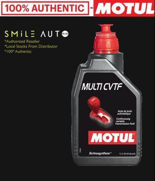 Motul Multi CVTF (CVT) Continuously Variable Transmission Fluid (Smile Auto x Motul)