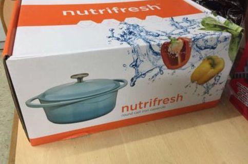 Nutrifresh 24cm blue pot