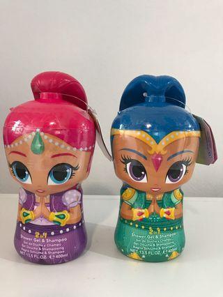 Kids - Shimmer and Shine 2 in 1 Shower Gel & Shampoo