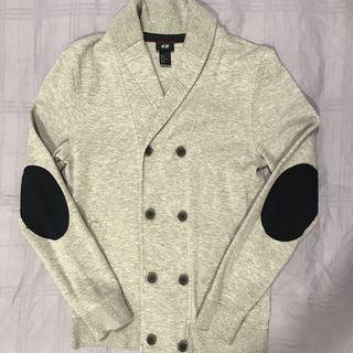H&M Double Breasted Cotton Blazer