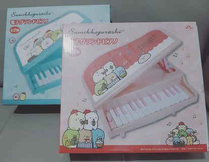 全新,剩餘少量!!!!角落生物❤兒童❤電子琴❤日本直送,100%全新。