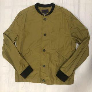 H&M Olive Shirt Jacket