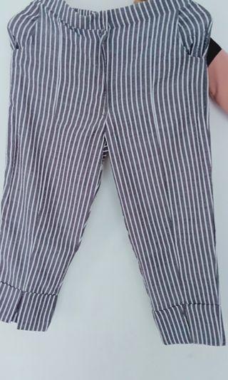 Vimma pants (stripe grey) by jenna&kaia