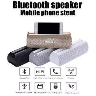 Bluetooth Speaker with Phone Stand