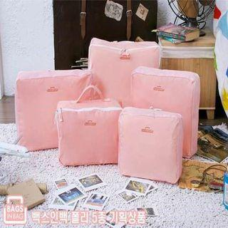 PINK TRAVEL BAG 5 IN 1