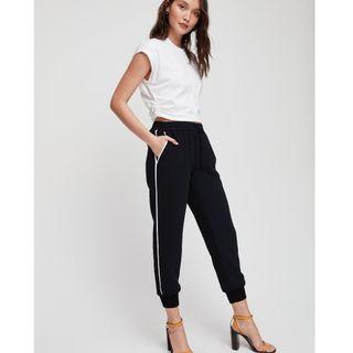 Aritzia Buffon Pants w/ Stripes