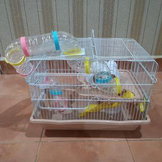 Hamster Cage with slide
