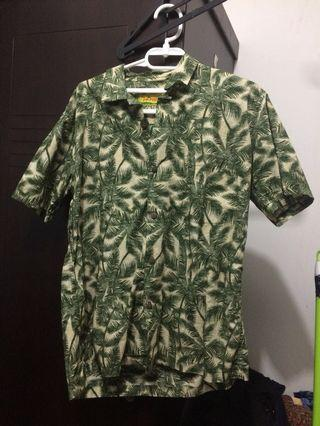 Tropic Thunder Vintage Palm Aloha Shirt