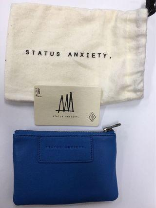 Status Anxiety Anarchy purse Surf Blue