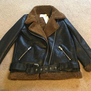 Zara aviator jacket large suit medium to large very good condition