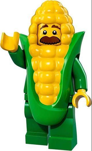 71018 LEGO Minifigures Series 17 Corn Guy