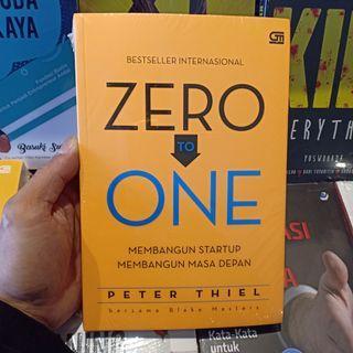 ZERO TO ONE karya PETER THIELL