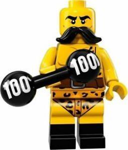 71018 LEGO Minifigures series 17 Circus Strong Man