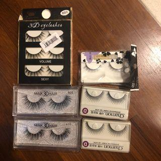 BRAND NEW 3D mink eye lash / normal lashes - assorted