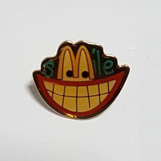 Smile (Smiling Teeth), McDonald's Singapore Pin