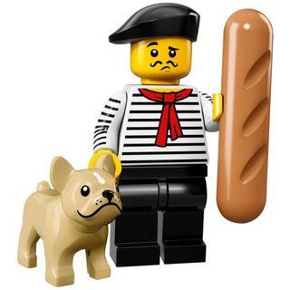 71018 LEGO minifigures series 17 French Connoisseur