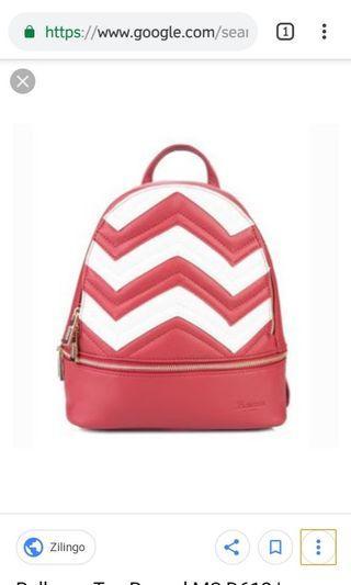 Tas Belleza merah