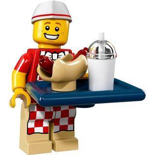 71018 LEGO minifigures series 17 sausage man