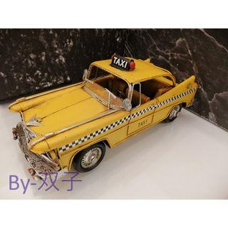 Antique Toy Car TAXI for display
