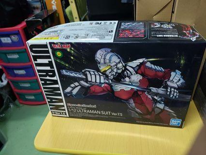 Figure-rise Standard Ultraman ver. 7.5 超人 鹹旦超人 七星俠 模型 要砌 可發光