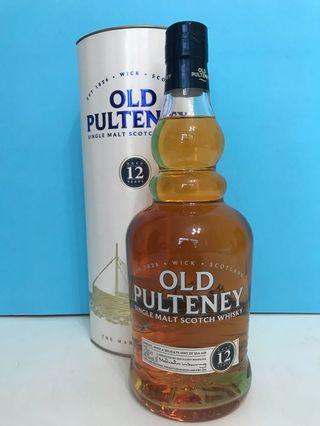舊裝Old Pulteney 12年威士忌