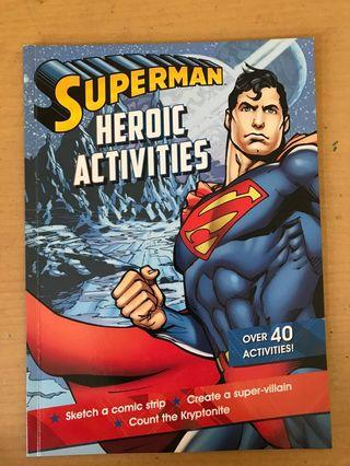Superman activity book