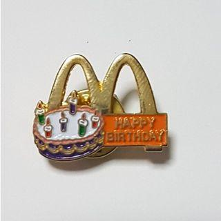 Happy Birthday, McDonald's Singapore Pin