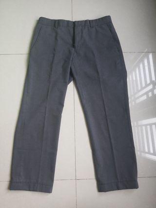 Celana Panjang Pria Grey Abu Abu Stanley Adams