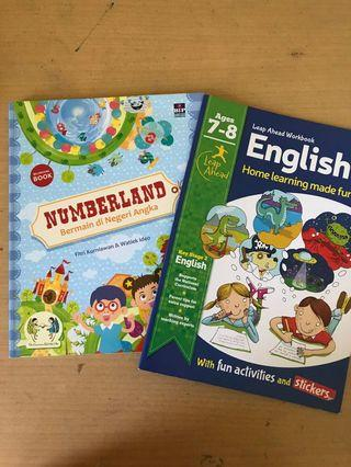(Bundle) Numberland dan English