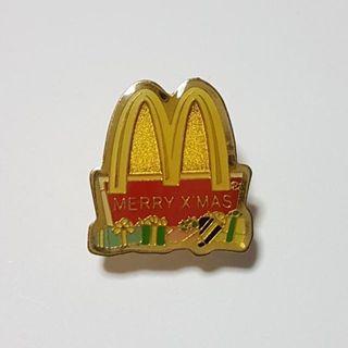 Merry X'mas  (McDonald Logo), McDonald's Singapore Pin