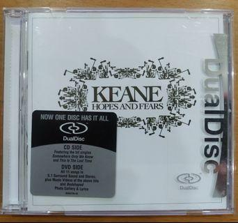"CD + DVD: Keane ""Hopes And Fears"""
