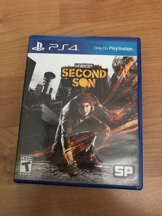 🚚 Infamous Second Son PS4