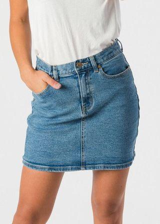 Afends Chevy Denim Skirt