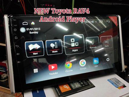 "10"" Android Player For NEW Toyota RAV4"