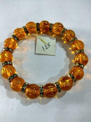 Gelang Orange Bracelet