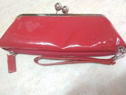 Red Purse/wallet from U. S. A