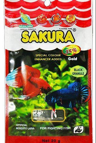 Sakura Fighting Fish Food