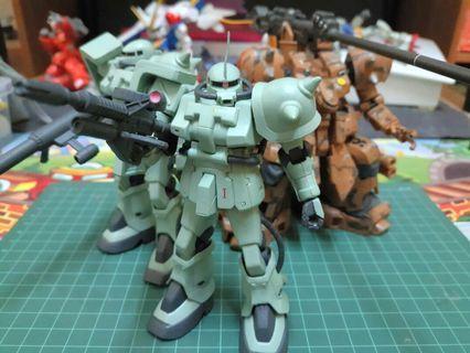 Banpresto DX Display Model Gundam 0083 Zaku II F2 Squad Set